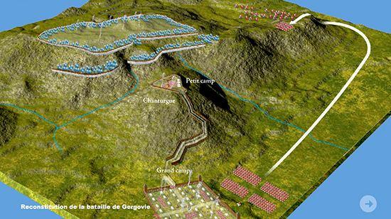 Battle of Gergovia wwwemersonkentcomimagesbattleofgergoviajpg