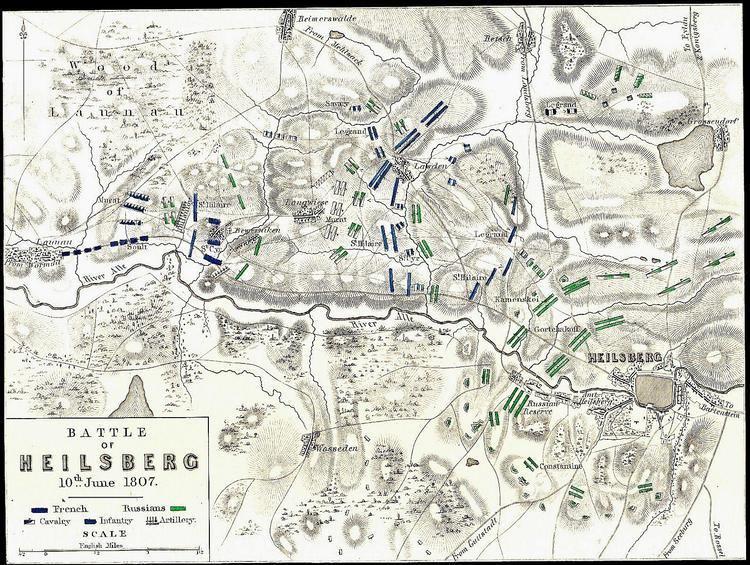 Battle of Heilsberg Jean Lannes Heilsberg