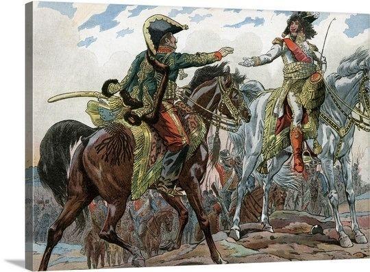 Battle of Heilsberg Murat and Gen Lassalle during the Battle of Heilsberg 1807 Photo
