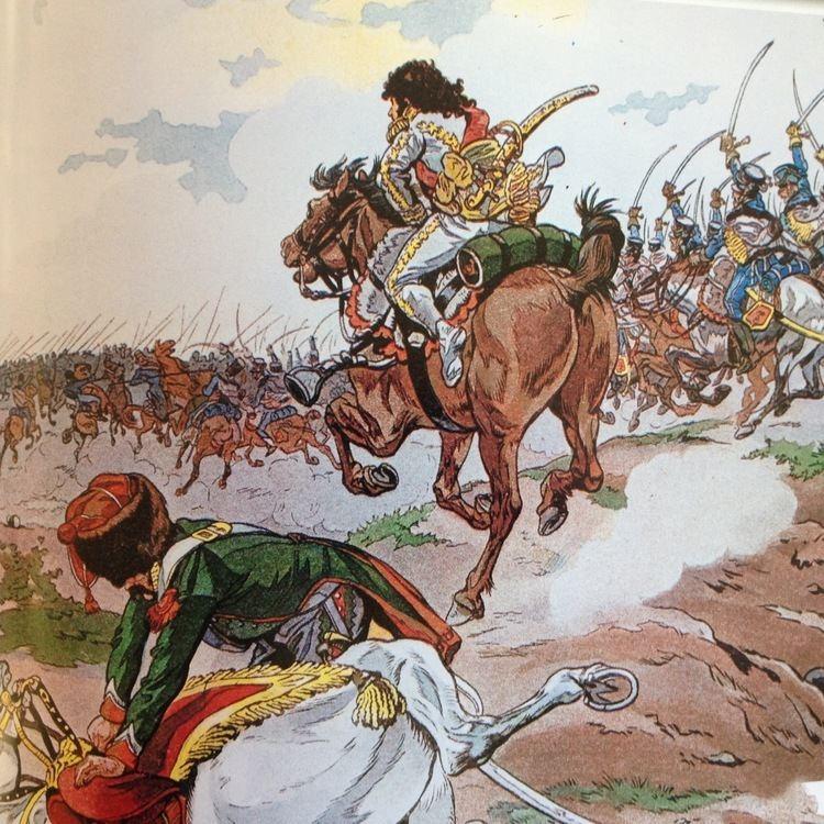 Battle of Heilsberg Dots of Paint Murat during the Battle of Heilsberg 1807