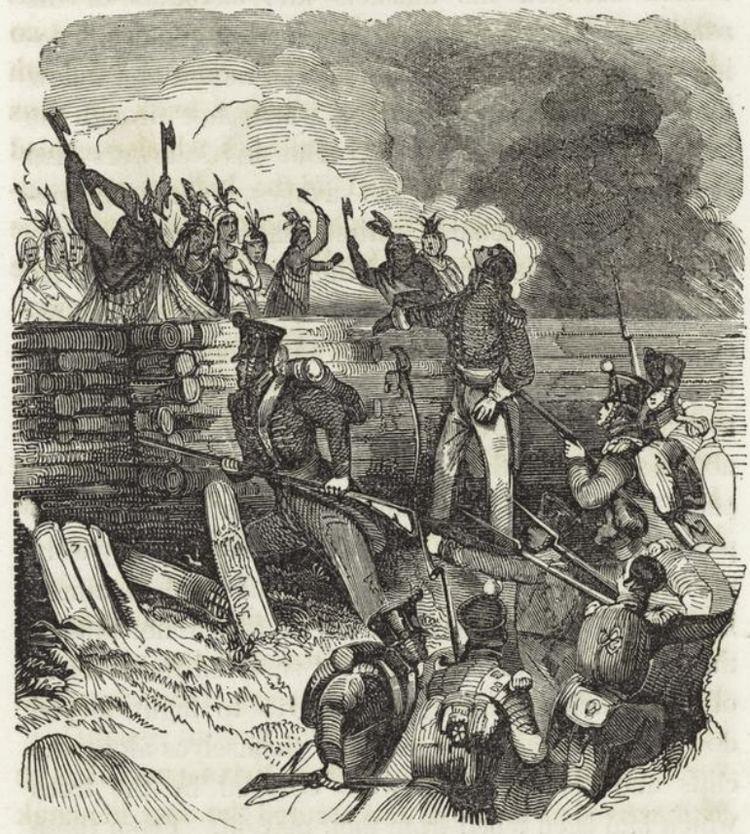 Battle of Horseshoe Bend (1814) httpsuploadwikimediaorgwikipediacommons99