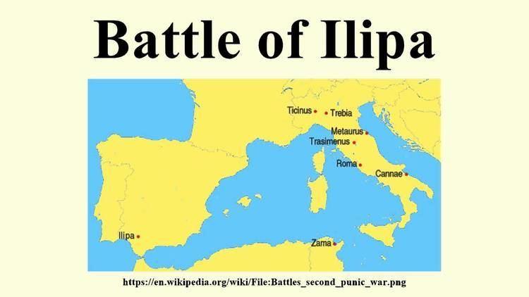 Battle of Ilipa Battle of Ilipa YouTube