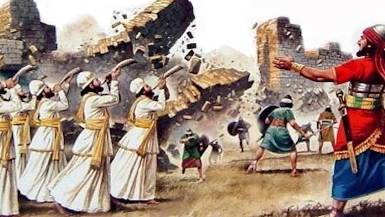 Battle of Jericho Joshua Fought the Battle of Jericho Amightywind Daughters of