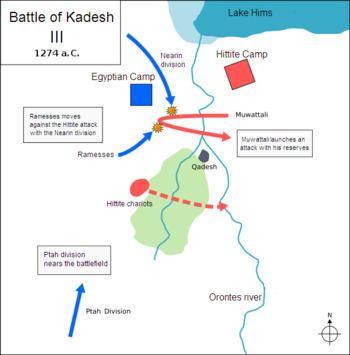 Battle of Kadesh Battle of Kadesh Wikipedia