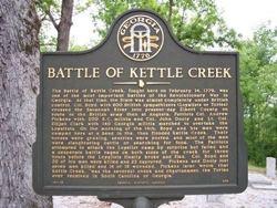 Battle of Kettle Creek Kettle Creek Battlefield Wilkes County Georgia National Register