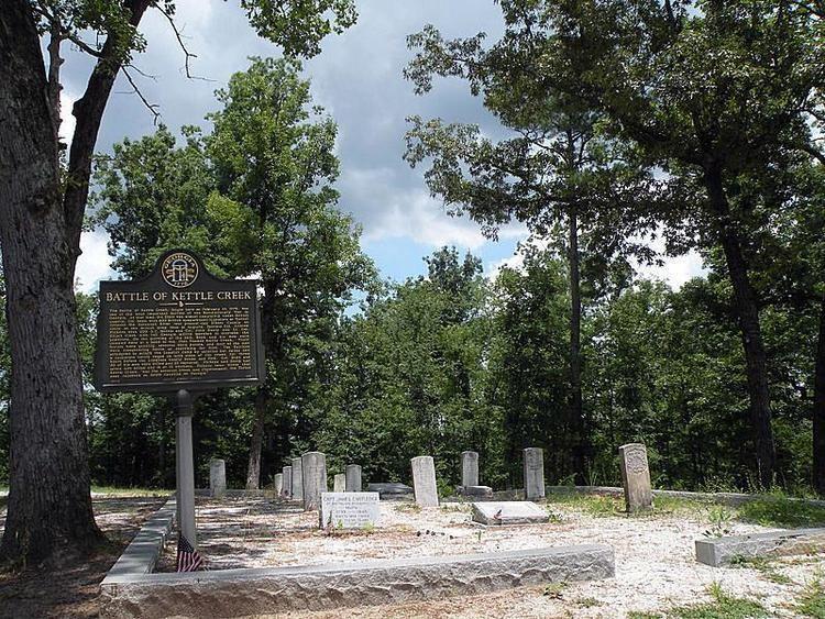 Battle of Kettle Creek Battle of Kettle Creek New Georgia Encyclopedia