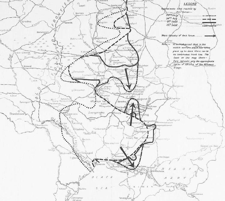 Battle of Kiev (1941) 16th September 1941 The trap closes on Kiev