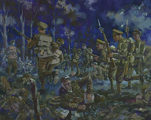 Battle of Kitcheners' Wood Midnight Charge The Attack On Kitcheners Wood Legion Magazine