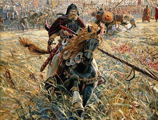 Battle of Kulikovo Kulikovskaya Battle The Battle of Kulikovo 1380 Learn Russian