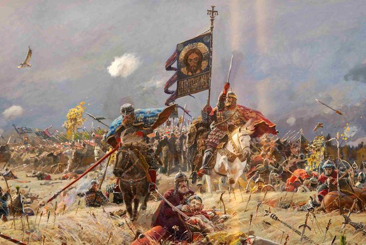 Battle of Kulikovo Kulikovo field Ryzhenko Pavel Gallery Web gallery of art