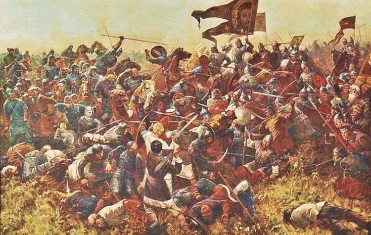 Battle of Kulikovo Sergei Prisekin The Battle of Kulikovo 1994 Art and Faith