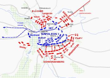 Battle of Leipzig Battle of Leipzig Wikipedia