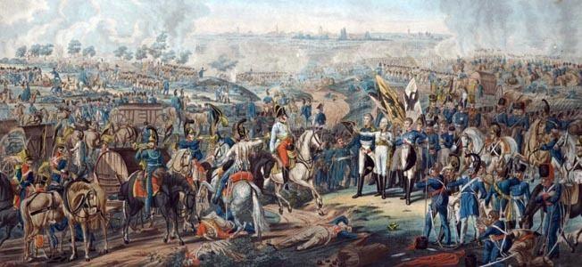 Battle of Leipzig Warfare History Network Colonel SaintChamans amp The Battle of Leipzig