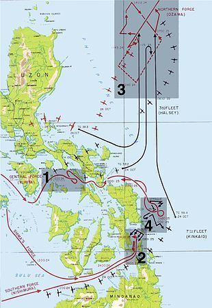 Battle of Leyte Gulf Battle of Leyte Gulf Wikipedia