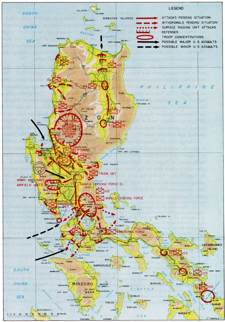 Battle of Luzon Chapter 9 The Mindoro and Luzon Operations