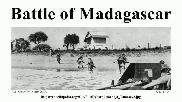 Battle of Madagascar Battle of Madagascar YouTube