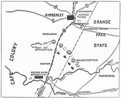 Battle of Magersfontein FileBattle of Magersfontein Mappng Wikimedia Commons
