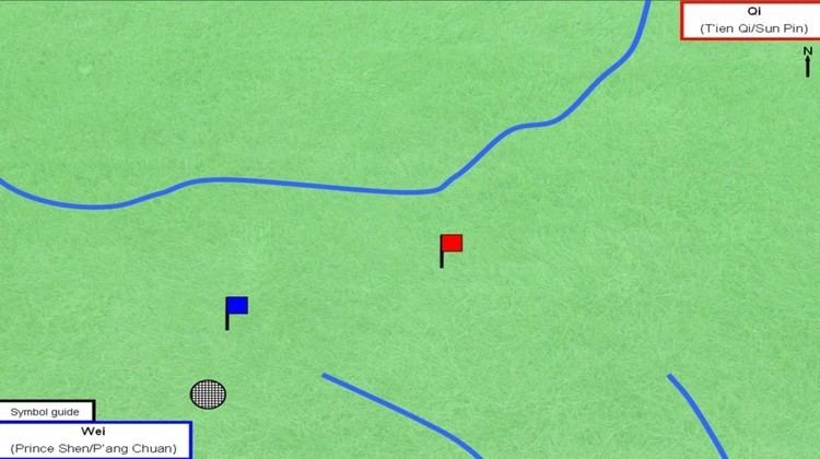 Battle of Maling Battle of Maling 342 BC The Art of Battle