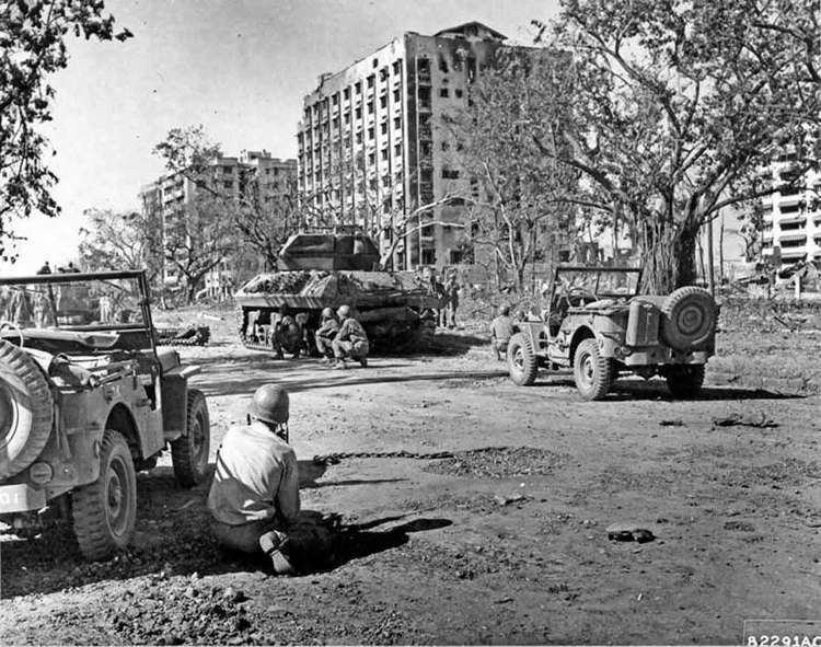 Battle of Manila (1945) 4 February 1945 Japanese spirits remain high as the Battle of