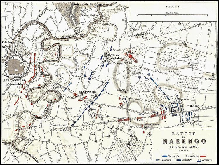 Battle of Marengo Jean Lannes Marengo