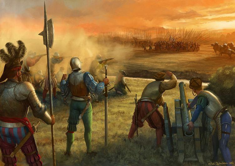 Image result for Battle of Marignano - moonlight