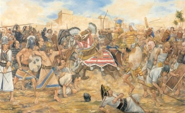 Battle of Megiddo (609 BC) wwwjshelioscom609BCbattlejpg