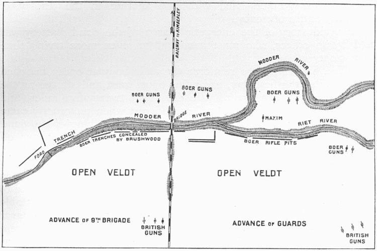 Battle of Modder River Battle of Modder River Wikipedia