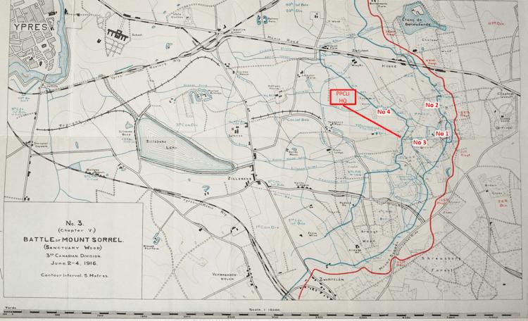 Battle of Mont Sorrel Mount Sorrel Birth of a Regiment