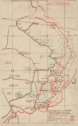 Battle of Mont Sorrel Battle of Mont Sorrel Wikipedia