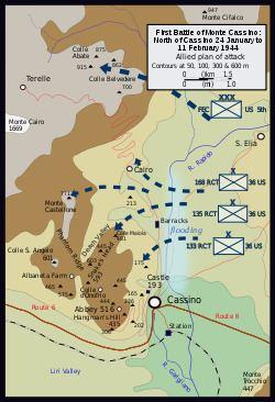 Battle of Monte Cassino Battle of Monte Cassino Wikipedia