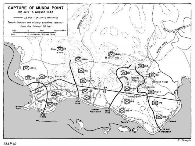 Battle of Munda The Battle of Munda Point 1943 The 11W Military History Series
