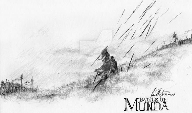 Battle of Munda The Battle of Munda by tacticangel on DeviantArt