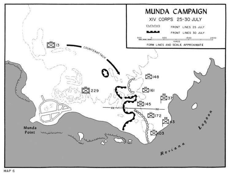 Battle of Munda HyperWar USMC Operations in WWII Vol IIIsolation of Rabaul