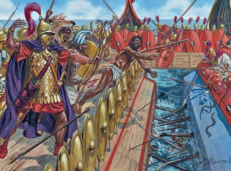 Battle of Mylae httpssmediacacheak0pinimgcom736x70c347