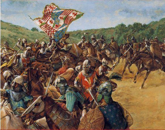 Battle of Nicopolis Battle of Nicopolis 1396 The Last Crusade Crusaders War Art