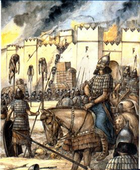 Battle of Nineveh (612 BC) Assyria Army History and Sumerian