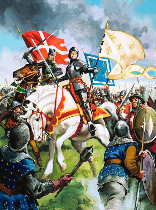 Battle of Patay Celebrating the Battle of Patay 18 June 1429 Joan of Arc Victory