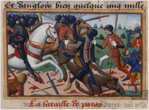 Battle of Patay Battle of Patay French Cavalry Massacre English Infantry After
