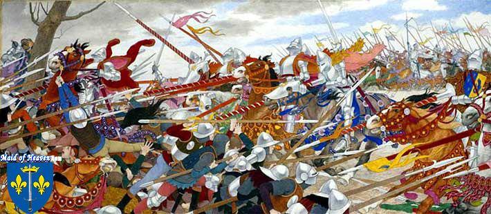 Battle of Patay Joan of Arc Maid of Heaven Battle of Patay amp Joan of Arc