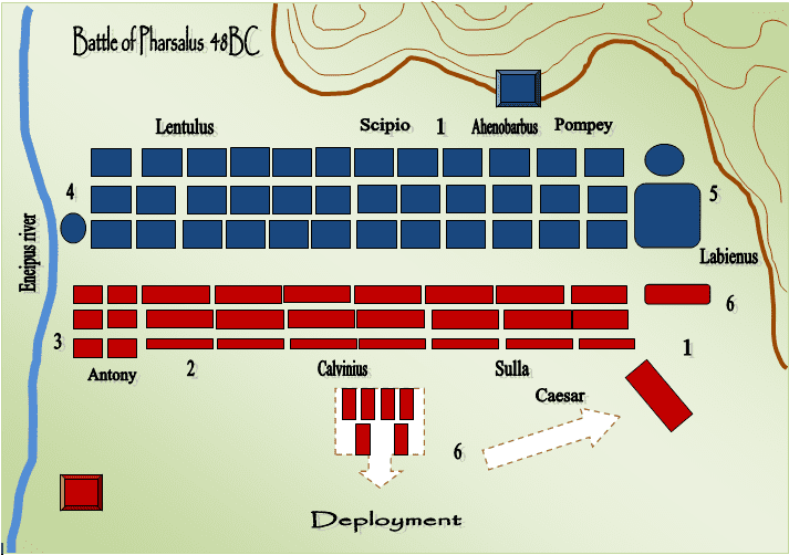 Battle of Pharsalus David Eshel39s Opinion Historical Campaign Essays Caesar vs Pompey