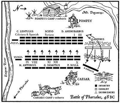 Battle of Pharsalus RedRampantcom Battle of Pharsalus