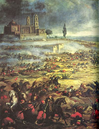 Battle of Puebla May 5 1862 The Mexican Army Defeats the French at the Battle of