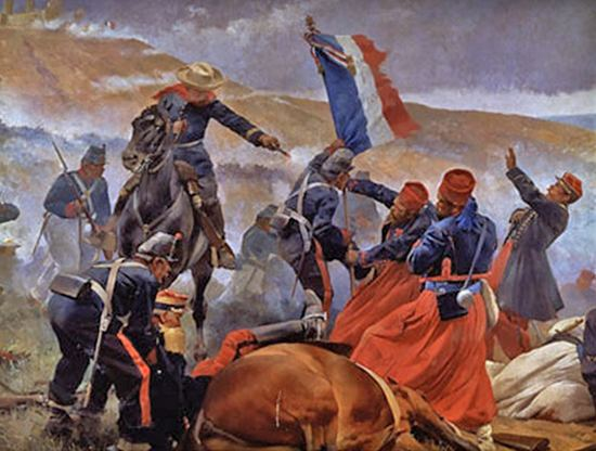Battle of Puebla FrenchMexican War 18611867