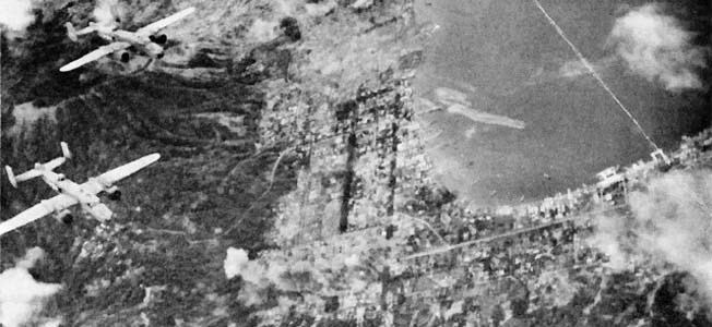 Battle of Rabaul (1942) Warfare History Network The Bombing of Rabaul in November 1943