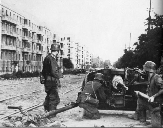 Battle of Rostov (1941) German soldiers on the street of RostovonDon 1942 True