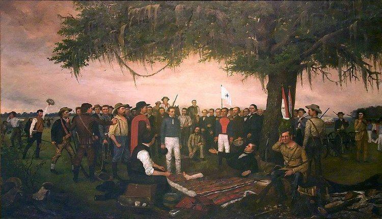 Battle of San Jacinto SAN JACINTO BATTLE OF The Handbook of Texas Online Texas State