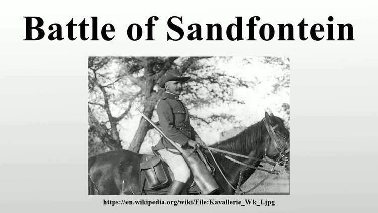 Battle of Sandfontein Battle of Sandfontein YouTube
