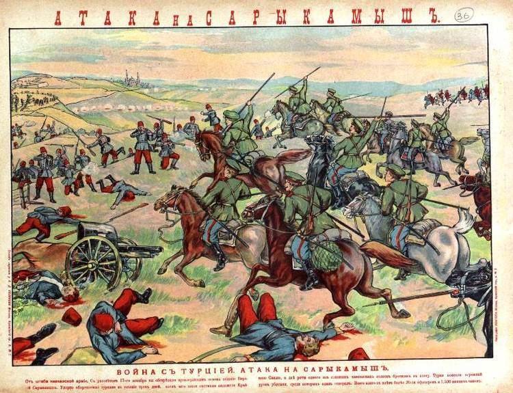 Battle of Sarikamish 22 December 1914 Sarikamish The Great War Blog