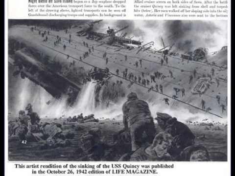 Battle of Savo Island USS Quincy Ghost of Savo Island YouTube