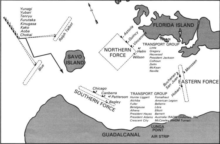Battle of Savo Island Battle of Savo Island Wikipedia